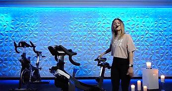 Bike Set-Up with Mel G