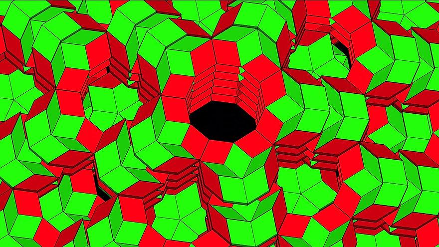 Penrose Tiling Honeycomb