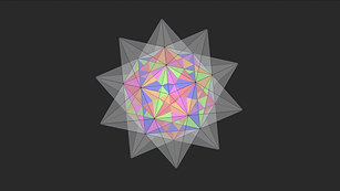 Cubes & Stellated Dodecahedron