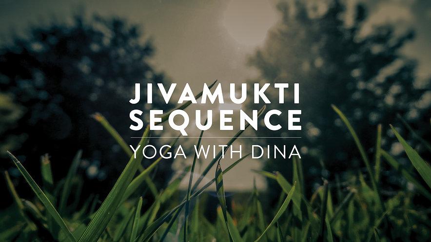 Jivamukti Yoga Online Session with Dina Ghandour