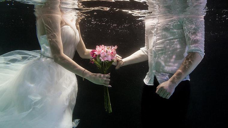 Фотосессии под водой
