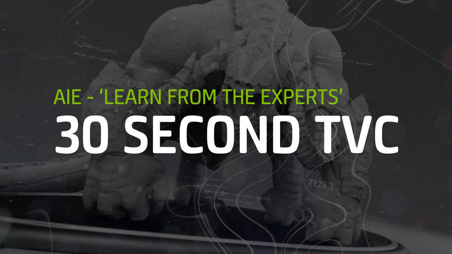 AIE - Learn From the Experts (30 sec TVC)