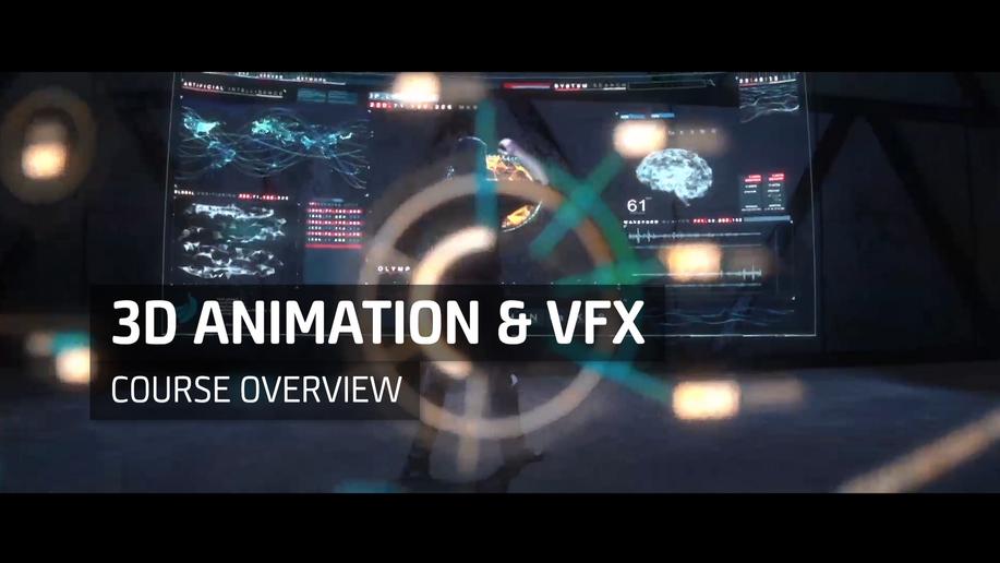 3D Animation & VFX Course Overview