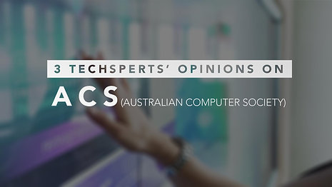 3 Techsperts' Opinions on ACS (Client Testimonial Video)
