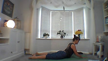 Hamstrings and lower back release