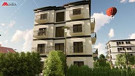 Urbanizzazione Social Housing con palazzine Modus