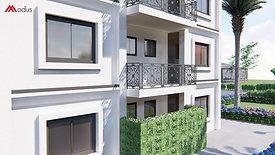 Palazzina singola Modus con 6 appartamenti mod. DUBAI