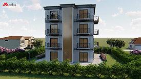 Palazzina singola Modus con 8 appartamenti varie metrature