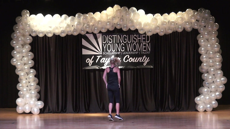 2021 Distinguished Young Women of Taylor County Program