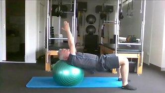 Trailer Fit Ball Pilates Mat Class #2