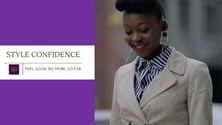 ABY STYLE CONFIDENCE AD