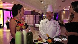 J Gisele and Modern Luxury Wedding Magazine Foodie Wedding with the Dining Divas