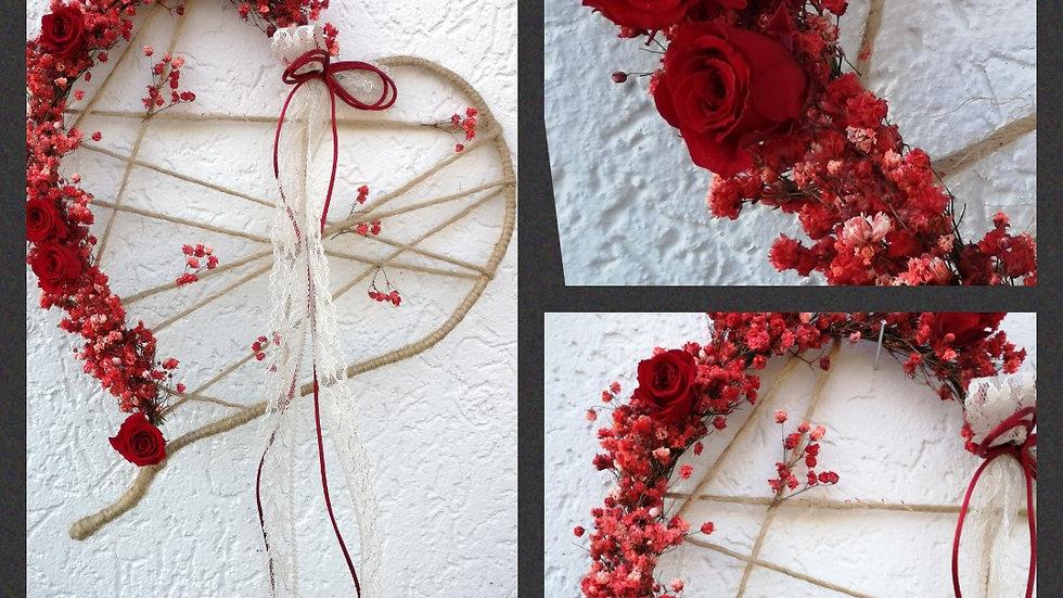 DIY Infinity- flower Herz