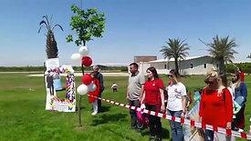 Kelaynak Havacılık kulübünde 23 Nisan töreni saygı duruşu ve istiklal marşimiz...