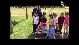 Kazime Özler ilkokulu anasınıfı öğrencileri Mustafa Bozan önderliğinde Kelaynakta piknik yapıyor