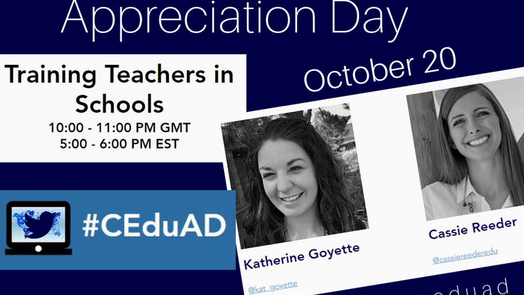 Connected Educator Appreciation Day (#CEduAd)