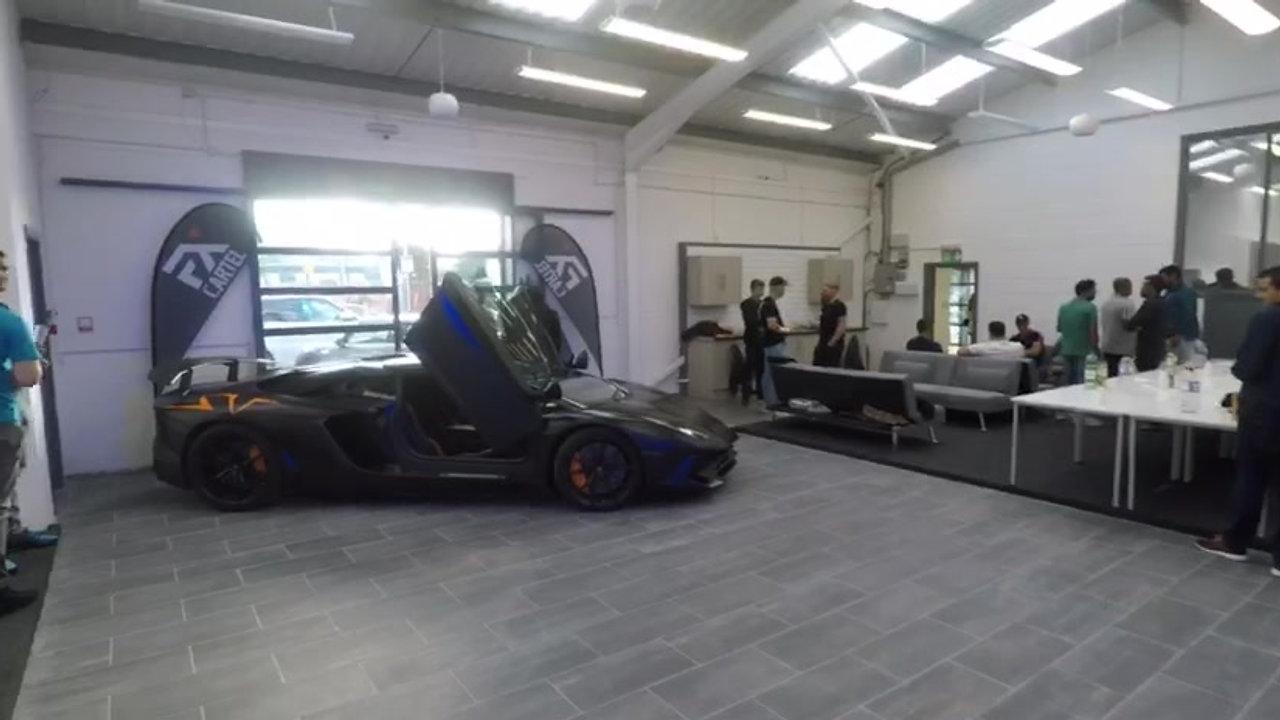 trading floor opening