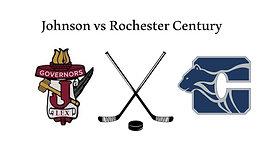 Johnson vs Rochester Century (JV Boys Hockey)  3/5/21  4:30 PM