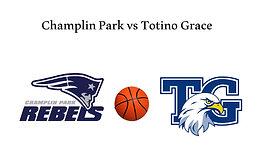 Champlin Park vs Totino Grace (Boys Basketball) 2/11/21   7:00 PM