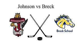 Johnson vs Breck (Boys JV Hockey)  5:00 PM