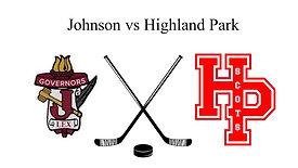 Johnson vs Highland Park (Boys JV Hockey)  2/20/21  5:00 PM