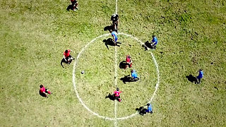 """New extreme sport: """"Alpine Soccer"""" – powered by the Sprinter 4x4"""