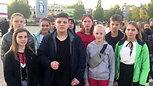 Акция - Молодежь эжвы за мир против терроризма