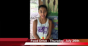 NS Day Camp Food Drive