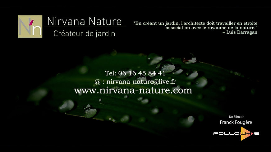 Nirvana Nature, Créateur de Jardin. 4K.