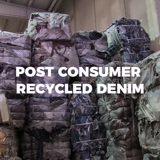 Post-Consumer Recycled Denim