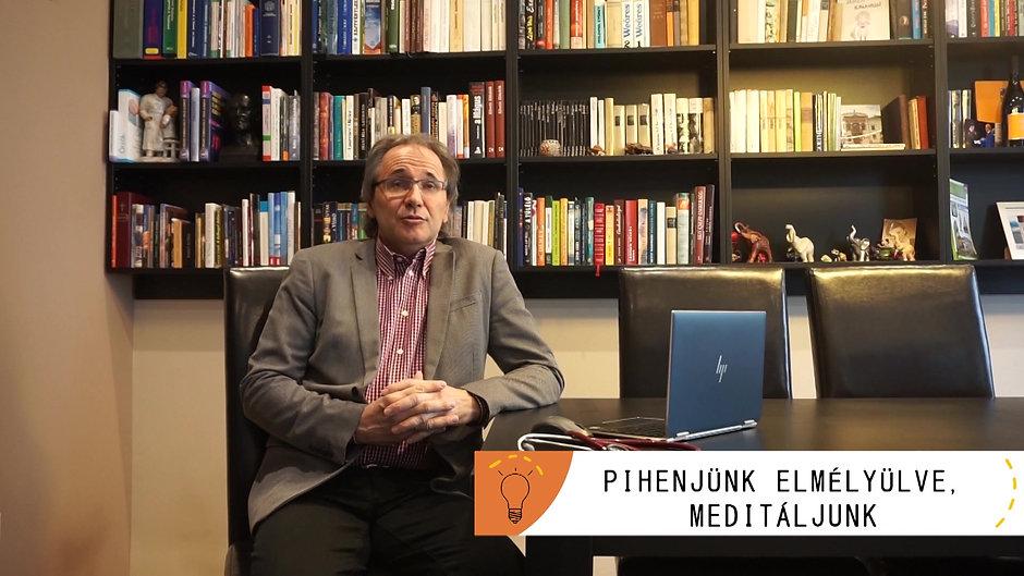 Dr.Sal Péter életmód tanácsai a karanténban