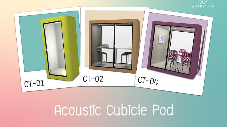 Acoustic Cubicle Pod