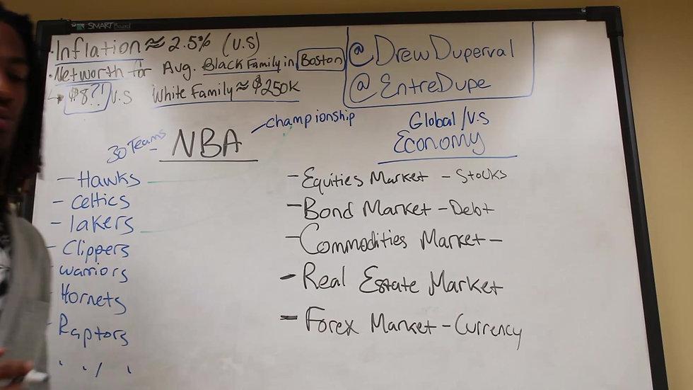 NBA vs Econmy