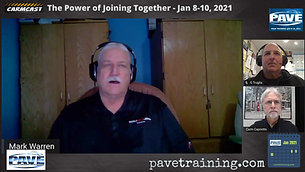 PAVE - The Power of Joining Together Dec 9 - 2020 CarmCast