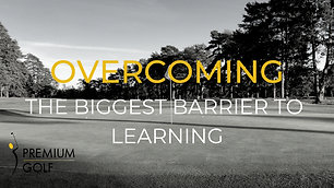 Overcoming the biggest barrier to learning