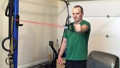 Exercise: Scapular Angel in Flexion