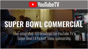 YouTube TV - Super Bowl LII