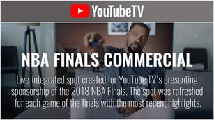 YouTube TV - NBA Finals
