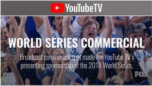 YouTube TV - World Series