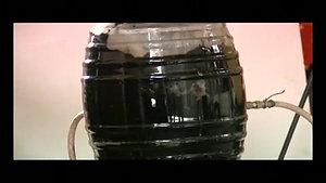 Prueba limpieza tanque de petroleo