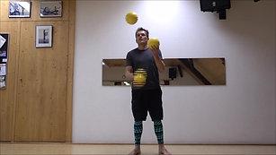 3 Ball gelb