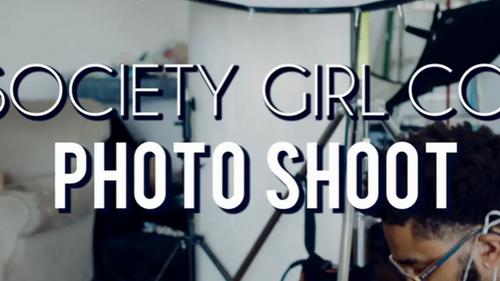 Society Girl Co. Photo Shoot BTS