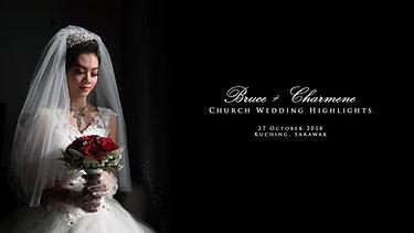 Bruce & DeCharmene Church Wedding