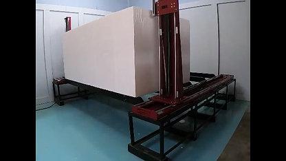 Double Block CNC Hot Wire Foam Cutter