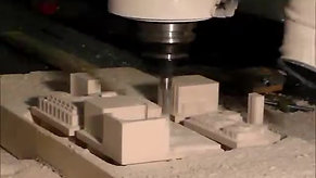 Machining High-Density Urethane Foam