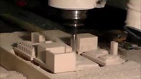 Machining High-Density Urethane Foam