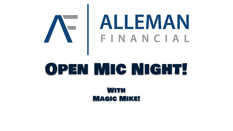 """""""Open Mic Night!"""" w/ Mike Alleman"""