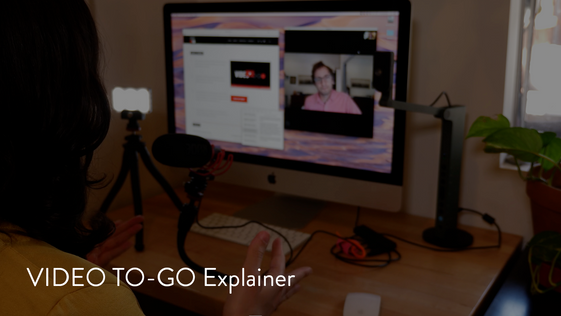 VIDEO TO-GO Explainer