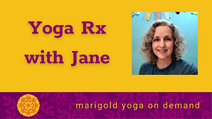 Yoga Rx with Jane-NEW!
