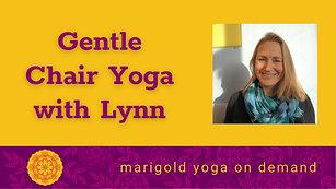 Chair Yoga with Lynn-NEW!